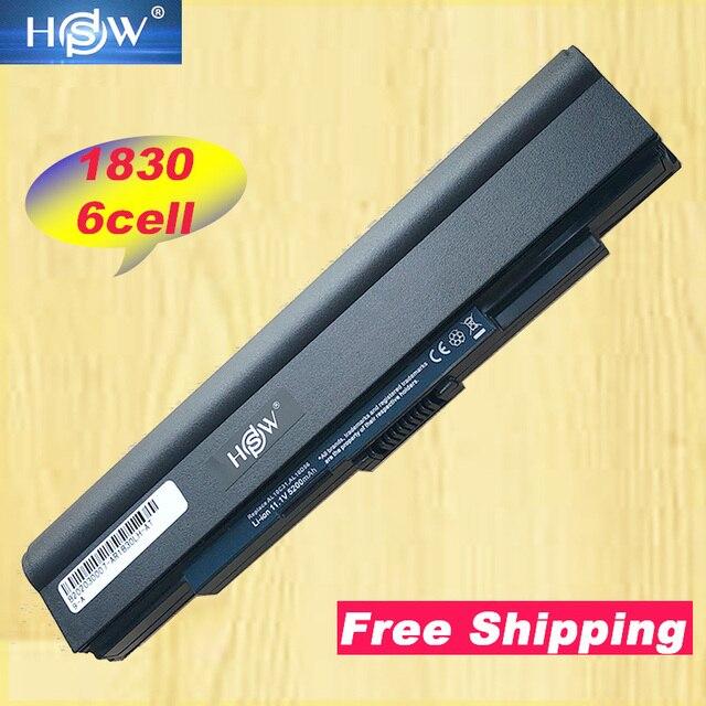 A HSW 5200 mAh Da Bateria Do Portátil Para Acer AO721 721 AO753 AS1830T 1830 1830 T Aspire One 753 Series AL10C31 AL10D56 bateria