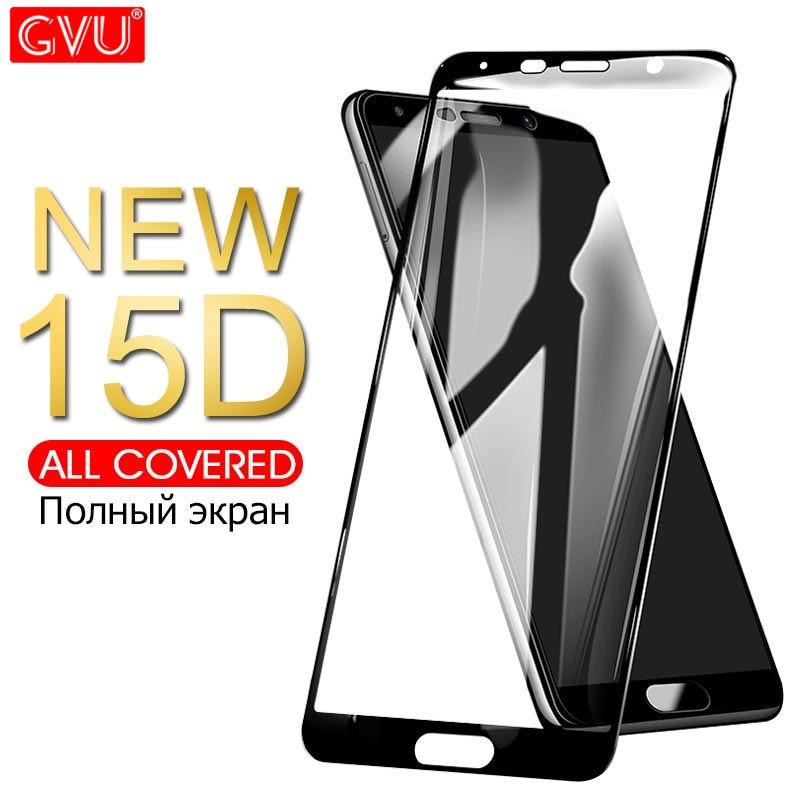 Verre de protection 15D sur le pour Huawei Mate 8 9 10 20 Lite protecteur d'écran trempé pour P20 P10 Lite Plus P20 Pro Film de verre