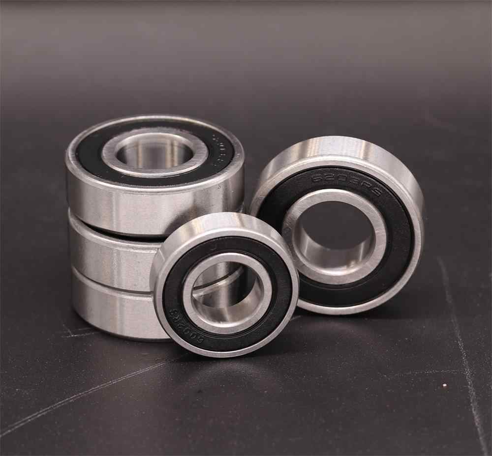 2 DIY Mechanicals 6203RS Rubber Shielded Deep Groove Ball Bearing 17x40x12mm