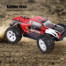 40 km/h 2.4 GHz 4WD Afstandsbediening Voertuig 1/16 Schaal RC Off-road Borstelloze Crawler 100-240 V lage center banden RC Model(China)