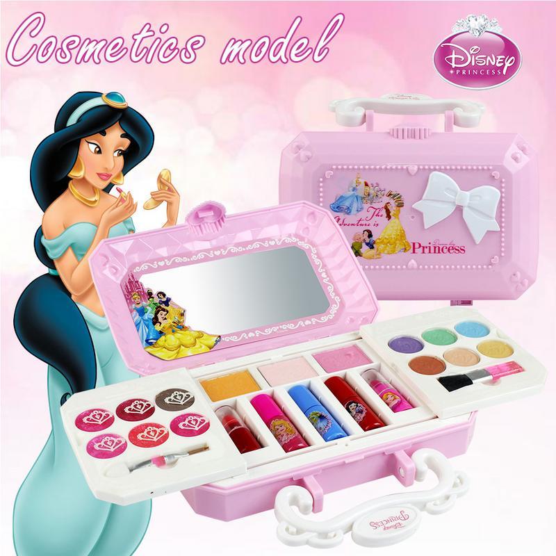 23pcs Disney Cosmetics Set Toy Make Up Kits Cute Play House Children Gift