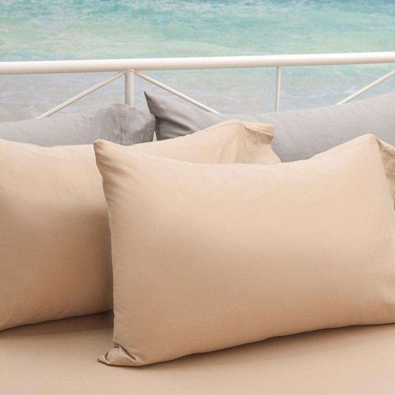 100 Cotton 2pcs 1 Pair Solid Pillow Case Pillowcase Pillow Sham Envelope Closure 600 Thread Count 40 60cm 50 70cm 50 75cm 49 Pillow Case Aliexpress