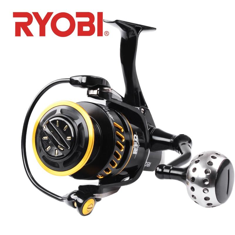 Moulinet de pêche RYOBI AP POWER III 6000/8000/10000 rapport de vitesse 5.0: 1 moulinets de pêche carretilha de pesca