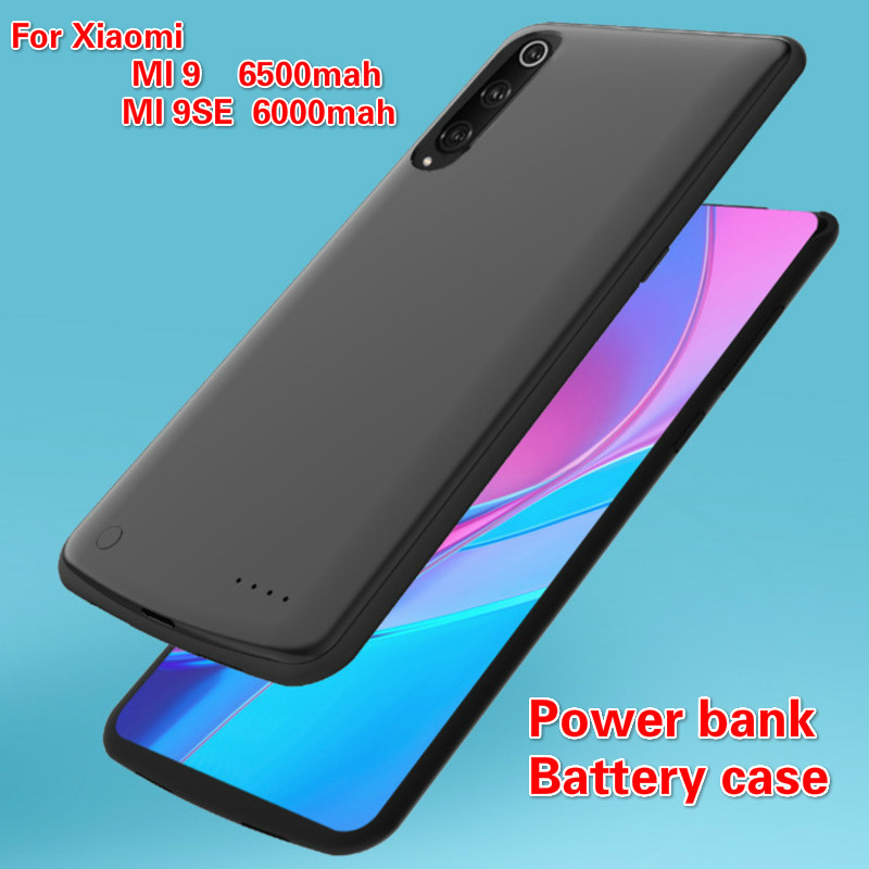 Backup Battery Cases For Xiaomi 9 9se Convenient Portable Power Supply External Battery For Xiaomi MI9 MI9se Battery Clip BackBackup Battery Cases For Xiaomi 9 9se Convenient Portable Power Supply External Battery For Xiaomi MI9 MI9se Battery Clip Back