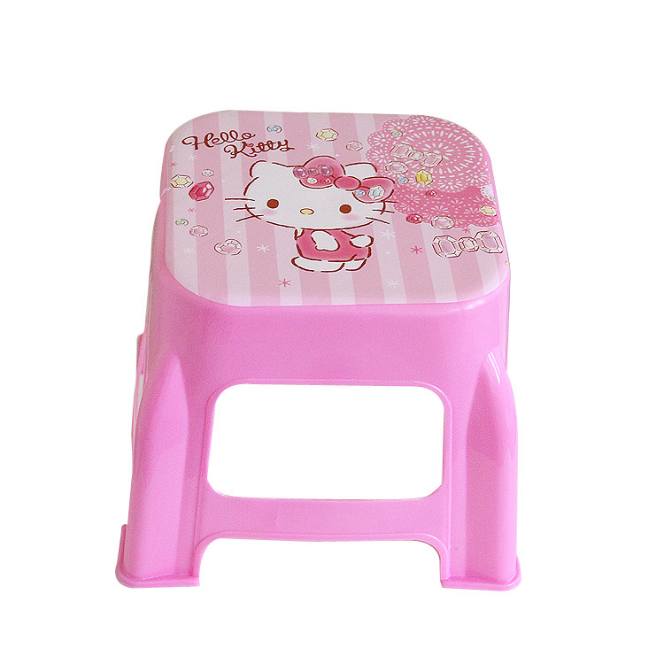 Image 5 - Plastic Small Stool Kindergarten Cartoon The Bench Household Adult Originality Living Room Shoes Kids Chair Furniture Dinette-in Children Chairs from Furniture