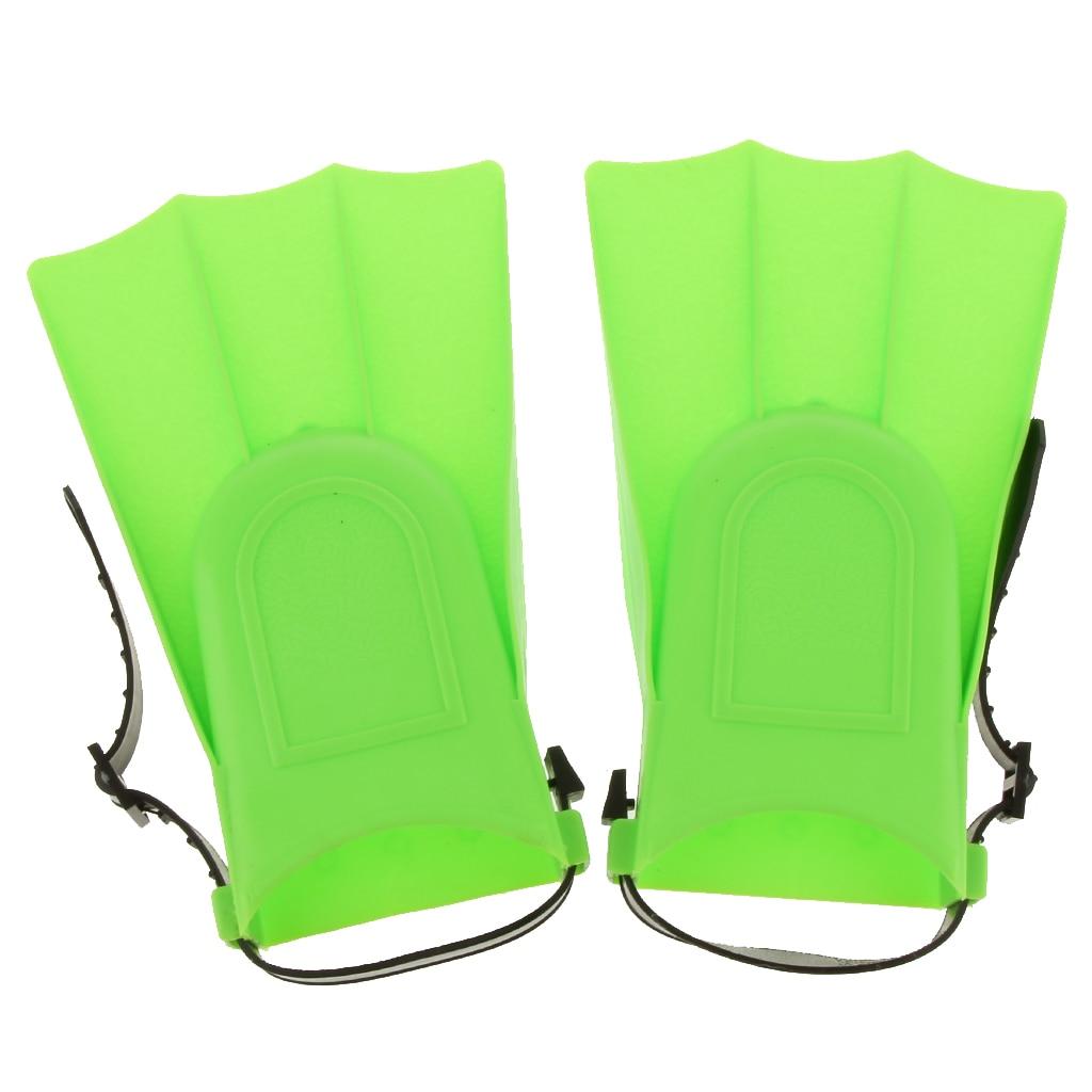 Perfeclan Adjustable Fins Training Long Flippers Scuba Diving Swimming Snorkeling Children Fins Swim Training Equipment