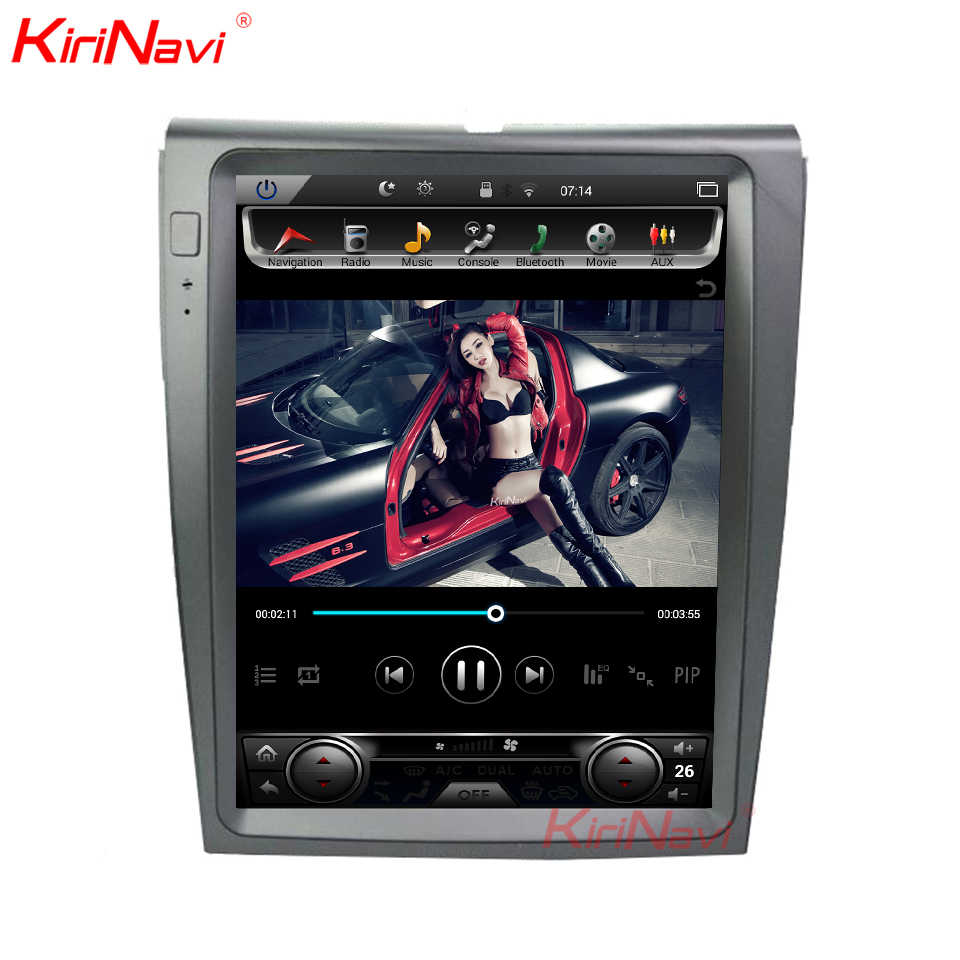 KiriNavi 12.1'' Android 8.1 Car Multimedia Player For Ford Edge Car Radio GPS Navigation Android Dvd Player 2011-2012 Bluetooth
