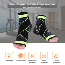 High Elasticity Ankle Guard Nylon Strap Ankle Support Brace Basketball Badminton Football Taekwondo Foot Support Protective Gear