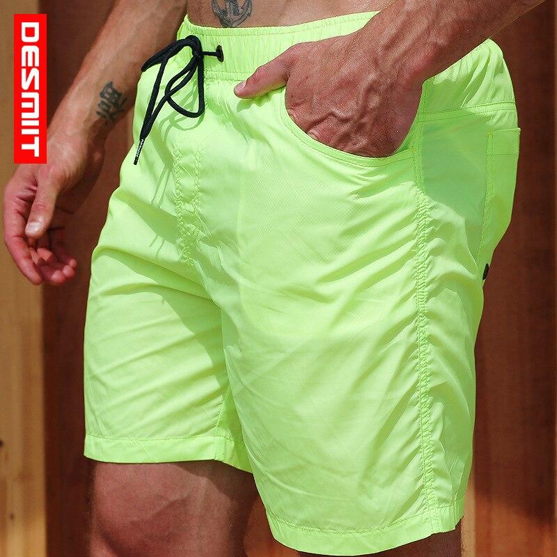 Quick Dry Boardshorts Men Swimwear Swim   Shorts   Mens Swimming Trunks Beach Pants   Board   Surf Bathing Suit Sea Sport Workout   Shorts