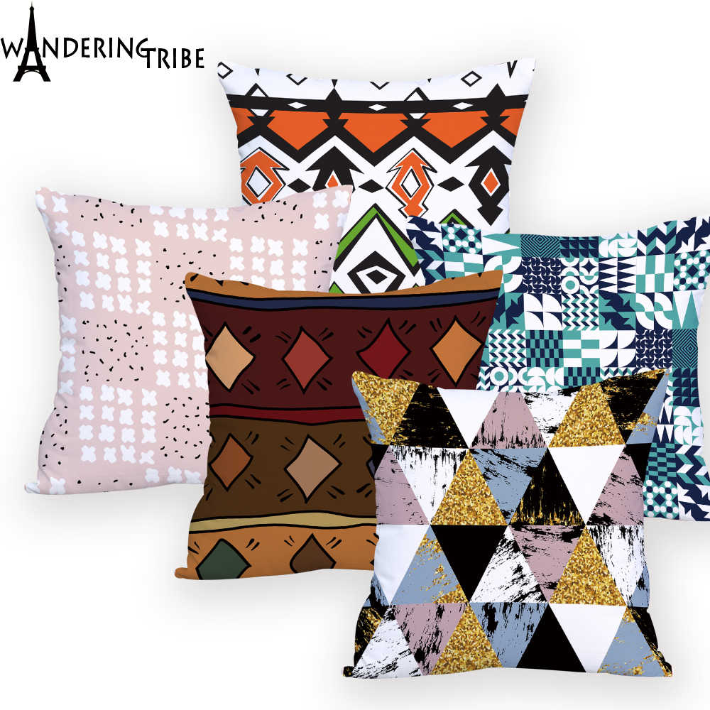 Boho Chic Decor Colorful Throw Pillows
