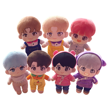 2019 New SGDOLL KPOP BTS Doll JIMIN Suga RM J HOPE Jungkook V JIN Plush Toy Stuffed Doll With Clothes Fans Gift Collection New fisher price soothe & glow seahorse