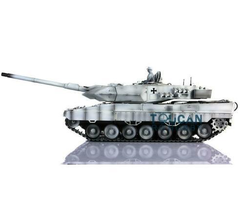 Sammeln & Seltenes Treu Henglong 1/16 Schnee 6,0 Generation Infrarot Battle Leopard2a6 Rc Tank 3889 Barrel Rückstoß Metall Tracks Gummi Fernbedienung Spielzeug
