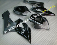 Hot Sales,Fairings For Suzuki K5 GSXR1000 05 06 GSX R1000 2005 2006 GSXR Black Grey Sports Bike Body Kits (Injection molding)