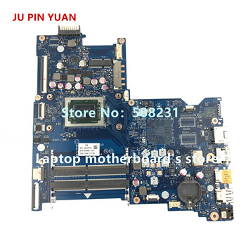 JU PIN YUAN 854958-601 854958-501 854958-001  LA-D713P mainboard for HP 15-BA 15Z-BA laptop motherboard A10-9600P fully Tested 858040 001 858040 501 mainboard for hp 14 am laptop motherboard with sr2kn n3060 6050a2823001 mb a01 all fully tested