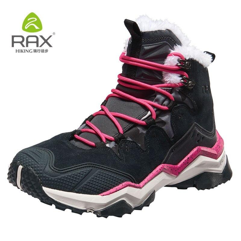 Rax Women Winter Outdoor Snow Boots Waterproof Hiking Boots Men