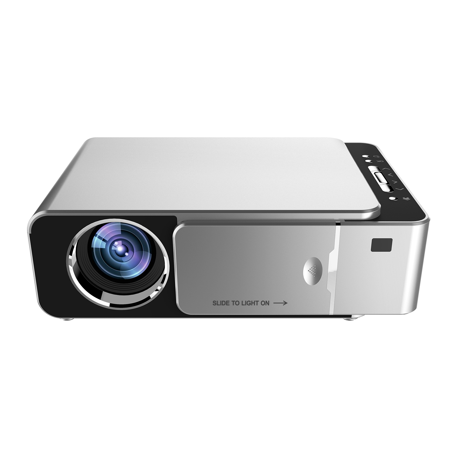 Top HD Multimedia Portable LED Projector Projector Home Theater HDMI VGA AV USB SD Lamp Remote Control Projector Home Theatre