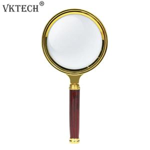 60mm 10X Magnifying Glass Port