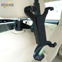 купить KISSCASE Car Rear Pillow Phone Holder Tablet Car Stand Seat Rear Headrest Mounting Bracket For iPhone X 7 8 6 iPad Mini Tablet по цене 329.32 рублей