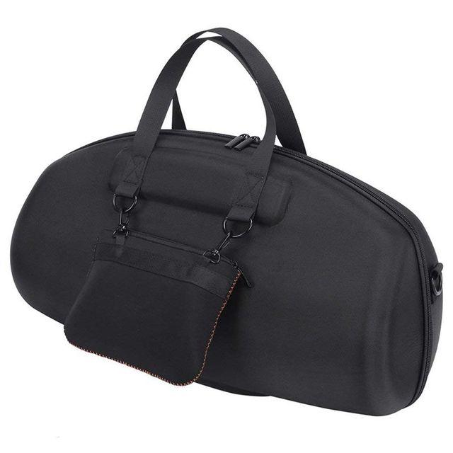 สำหรับJBL Boomboxแบบพกพาลำโพงบลูทูธกันน้ำกรณีพกพากระเป๋ากล่องป้องกัน (สีดำ)
