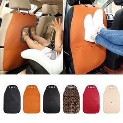 Protecteur de couverture arrière de siège de voiture tapis Anti-coup propre protecteur de dos tapis Anti-usure tapis sale étagé pour les enfants
