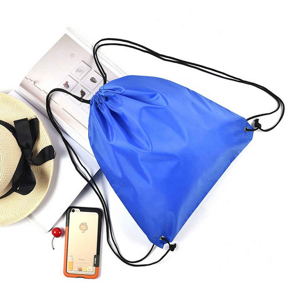 2019 جديد نمط أزياء الساخن السفر المنزل سلسلة الرباط على ظهره الصلبة حزام السرج كيس حمل حقيبة الرياضة المدرسية حزمة
