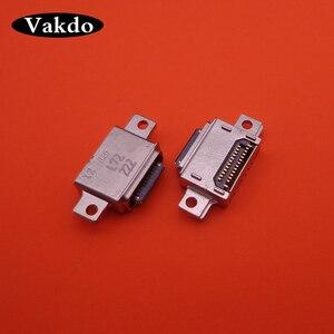 Image 1 - 50pcs/lot For Galaxy Samsung S8 G950 S9 G960U SM G960U 26pin Micro mini Usb Charge Charging Connector Plug Dock jack Socket Port