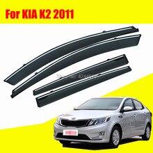 Car Sun Visor Window Rain Shade for Plastic Accessories For KIA K2 2011
