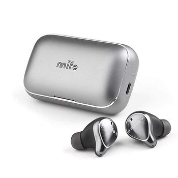 New Mifo O5 Bluetooth 5.0 HiFi Earphones IPX7 Waterproof Sports Headset With Charging Case Mini In-Ear Earbud Stereo Earphone
