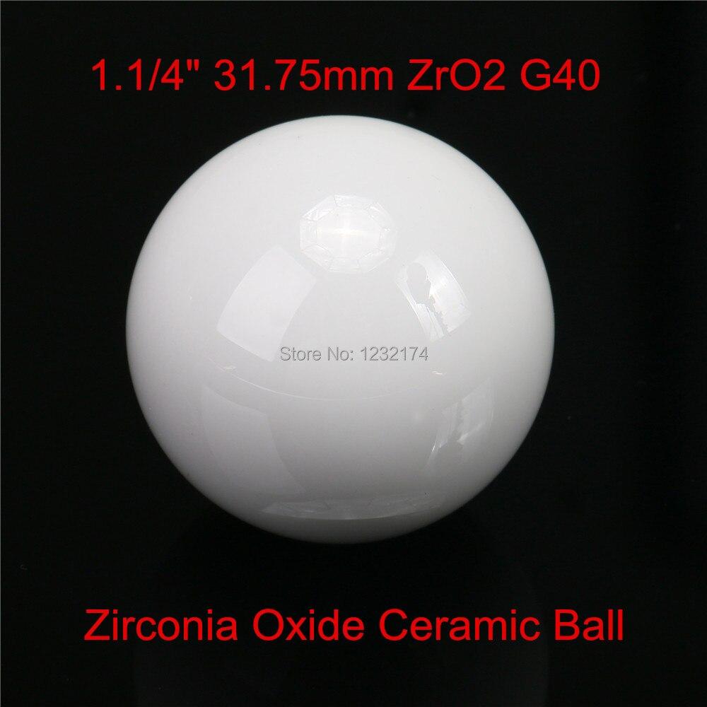31.75mm ZrO2 Zirconia Oxide Ceramic Ball G40 1pc for valve ball,bearing, homogenizer,sprayer,pump 31.75mm ceramic ball ZrO231.75mm ZrO2 Zirconia Oxide Ceramic Ball G40 1pc for valve ball,bearing, homogenizer,sprayer,pump 31.75mm ceramic ball ZrO2