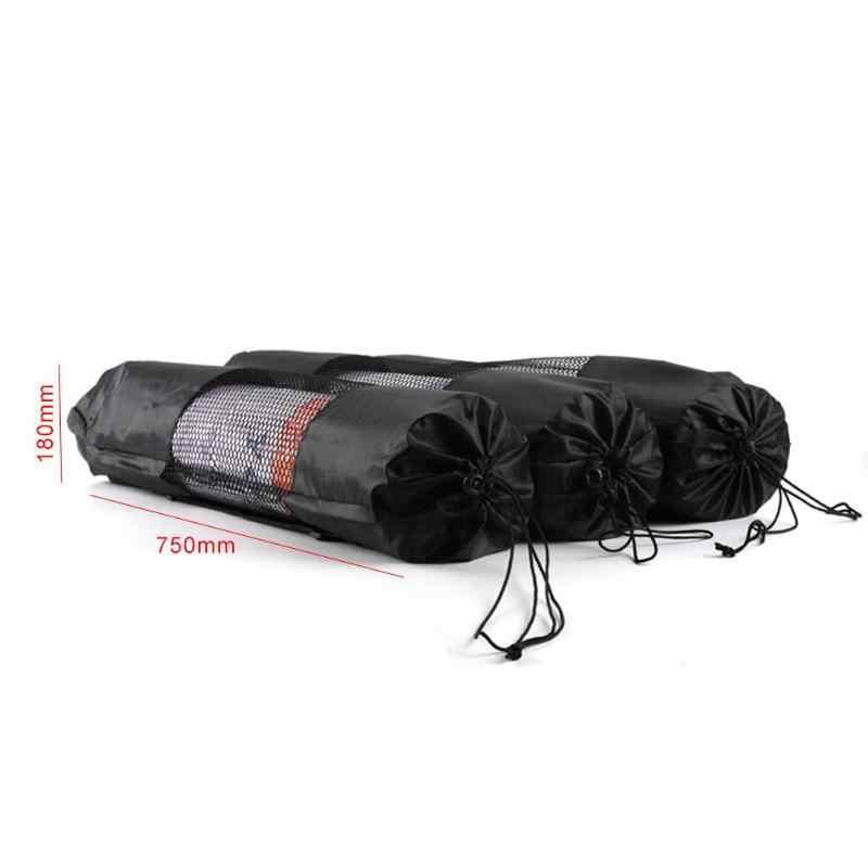 利便性 yoga マットキャリアホルダー防水黒 yoga ストラップシングルショルダーメッシュ巾着 yoga バッグケース調節可能なスポーツに
