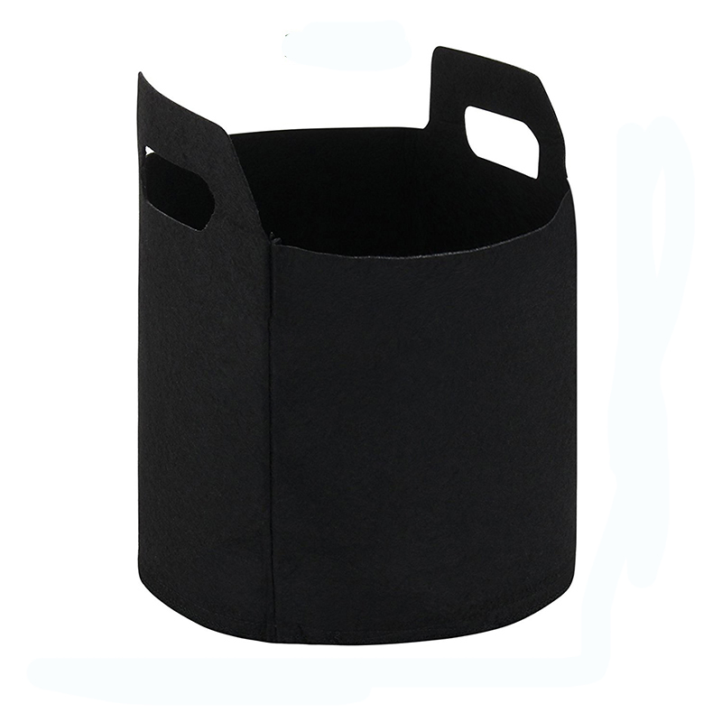 Image 4 - 3 PCs 1/2/3 gal Black Garden Grow bags for plants Non Woven Fabric Plant Pouch Root Container Grow Bag Aeration Pot Container-in Grow Bags from Home & Garden