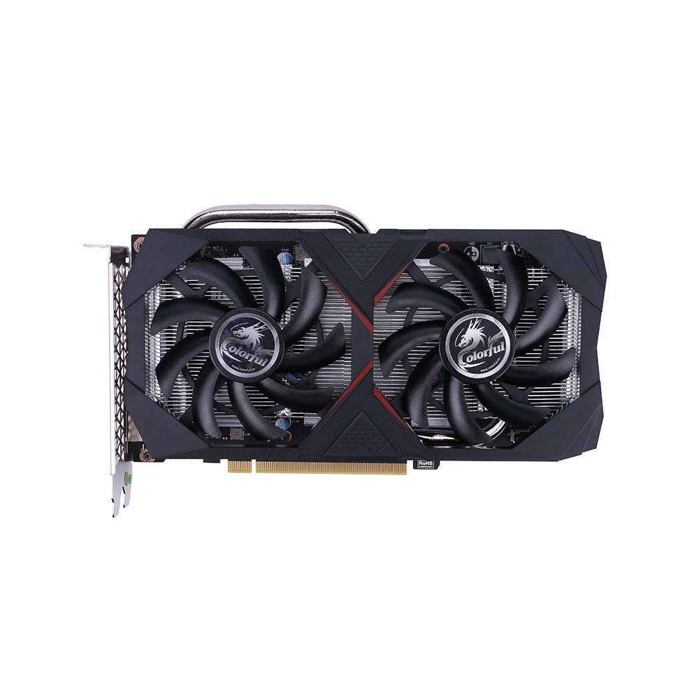 Colorful GeForce GTX 1660 6G Graphic Card Nvidia GPU 1785Mhz GDDR5 GTX1660 Video Card TU116 PCI