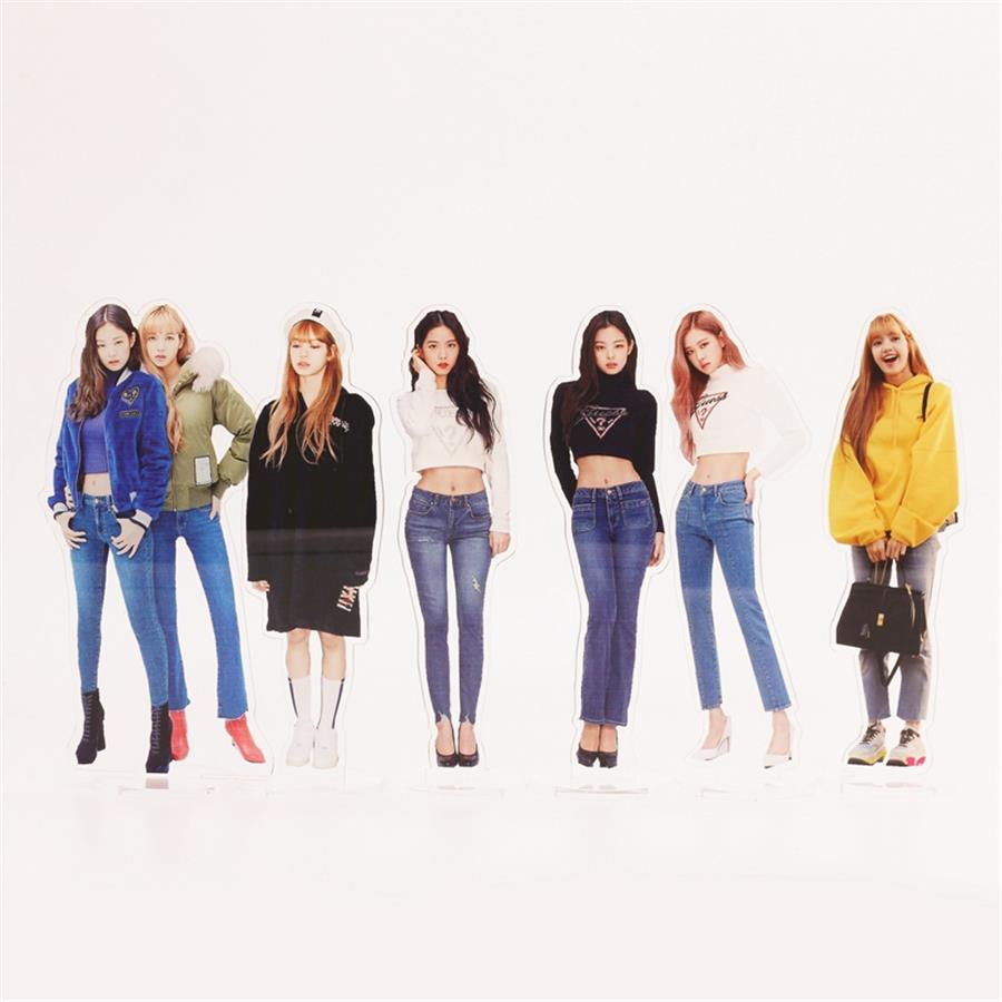 Jewelry & Accessories 100% Quality Kpop Blackpink Members Acrylic Standee Action Figure Doll Rose Lisa 18cm Standing Action Table Decor Jisoo Jennie Careful Calculation And Strict Budgeting Beads & Jewelry Making