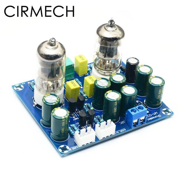 CIRMECH HIFI สูญญากาศหลอด Preamplifier board อิเล็กทรอนิกส์วาล์วเครื่องขยายเสียง ac12v diy ชุดและสำเร็จรูปผลิตภัณฑ์