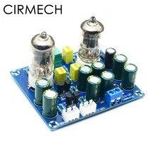 Cirmech hifi 진공관 전치 증폭기 보드 전자 밸브 증폭기 ac12v diy 키트 및 완제품