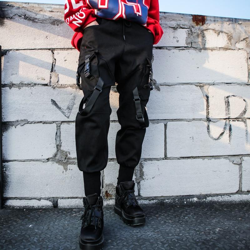 Elástica Bolsillo Pantalones Jr549 De Las Alta Black Moda Verano Mujeres Punto 2019 Sueltos Negra Cinta Nueva Cintura La sordo Primavera Marea x70v0q