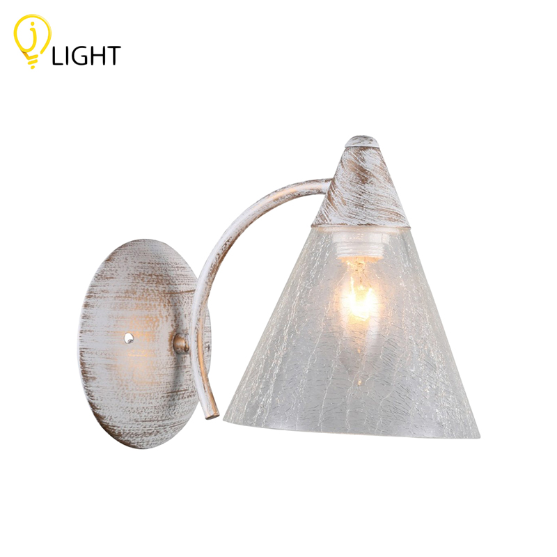 Wall lamp J-LIGHT Karina Antique 1248/1 W white creative led wall lamp hotel bedroom bathroom light living room bedside modern led wall light reading wall lamp mirror lights