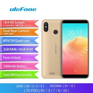 Image 2 - Ulefone S9 Pro Android 8.1 5.5 Inch 18:9 MTK6739 Quad Core RAM 2GB Rom 16GB 13MP + 5MP Dual Camera Sau 4G