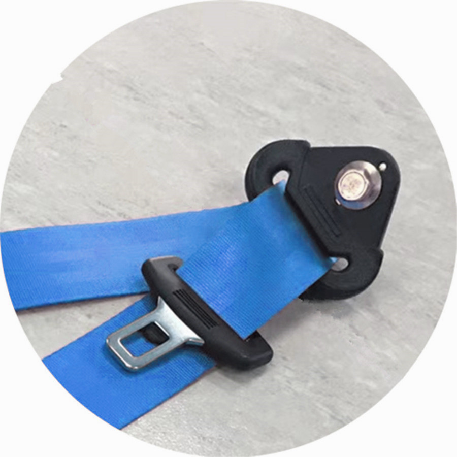 Retractable Car Safety Seat Belts Lap Safety Belt Seatbelts for Auto Cars with Curved Rigid Buckle Warning Cable in Seat Belts Padding from Automobiles Motorcycles