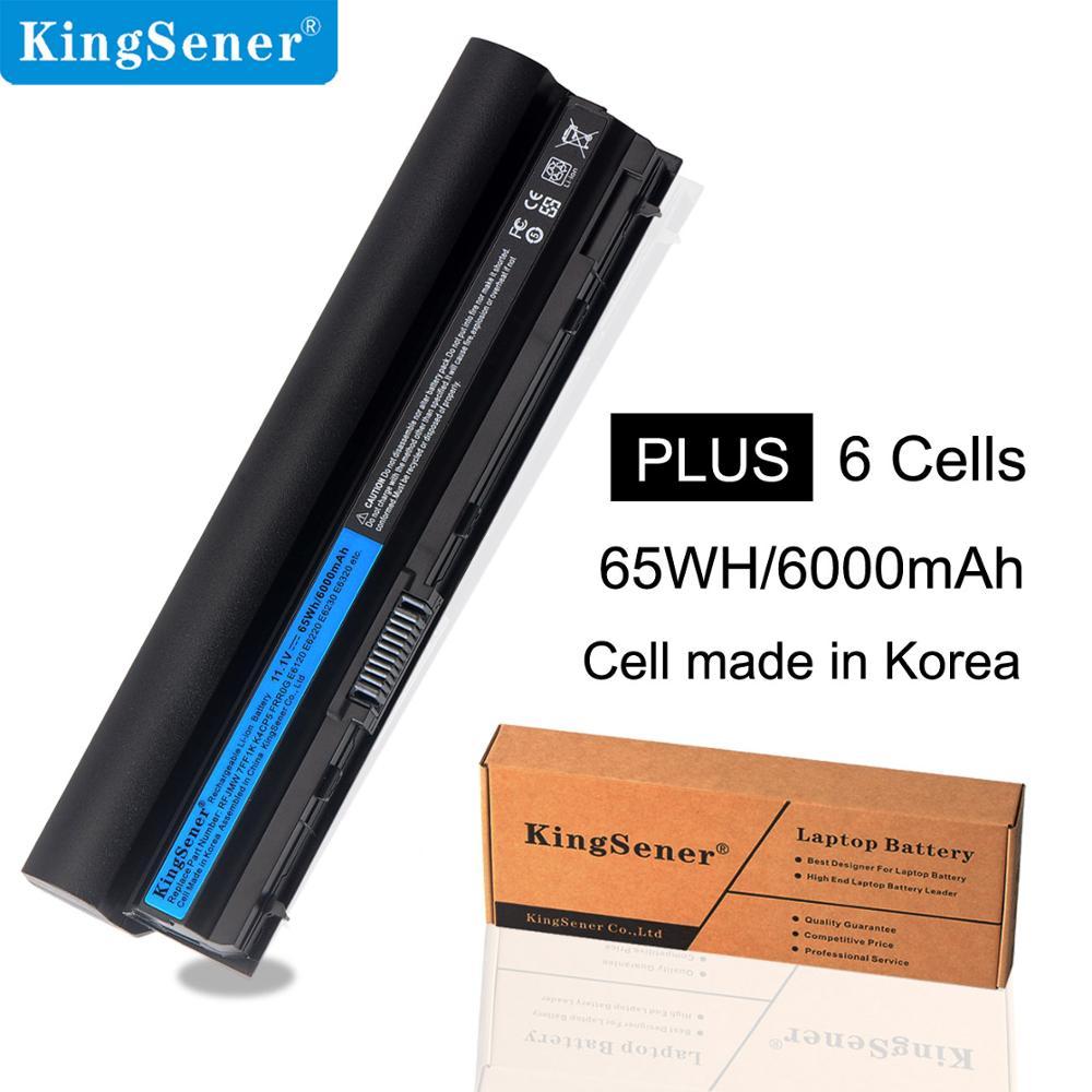KingSener 11.1V 6000mAh New RFJMW Laptop Battery For DELL Latitude E6320 E6330 E6220 E6230 E6120 FRR0G KJ321 K4CP5 J79X4 7FF1K