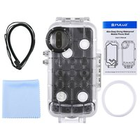 PULUZ 40m Waterproof Diving Undersea Housing Cover Case Wear resistant Full Cover Protection shell for Huawei P20 Pro