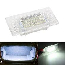 1 pçs super branco bagagem traseira do carro tronco conduziu a lâmpada de luz 63316962039 para bmw e39 e60 e61 f10 m5 x5 x1 1 3 5 7 series x-series
