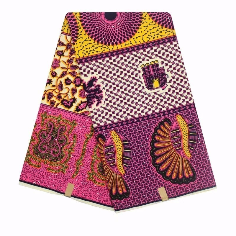 Home & Garden Apparel Sewing & Fabric Selfless African Ankara Fabric High Quality Hollandais Wax Print Fabric Printing 100% Cotton African Hollandais Real Dutch Wax For Dress Moderate Cost