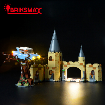 BriksMax Led Light Up Kit For Hogwart`s Whomping Willow Blocks Lighting Set Compatible With 75953(NOT Include Model)