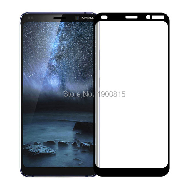 3D Tempered Glass For Nokia 9 PureView Full Cover 9H Protective film Protection Screen Protector For Nokia 9 PureView Guard