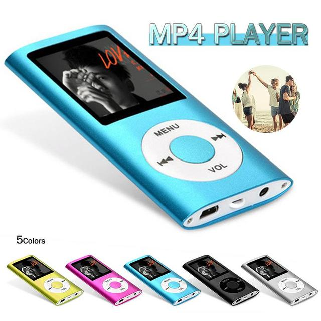 8G MP4 Player FM Portable Radio Game Console Txt E-book Ultrathin MP3 Player Music Player Audio Voice Recorder Gift For Kid MP4