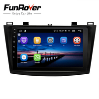 Funrover Car Multimedia player 2 din Android 8.0 Car DVD Autoradio Navigation for Mazda 3 Axela 2010 2013 stereo elink wifi navi