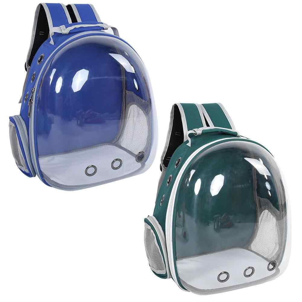 1 шт Кот Портативный рюкзак капсула пространство прозрачные дышащие Pet клетка сумка для переноски Pet рюкзак Собаки Cat проведения клетке