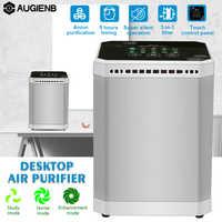 Ionizador purificador de aire ionizador negativo sincronización silencioso carbón activado filtro de aire para la oficina en casa eliminar el humo de formaldehído