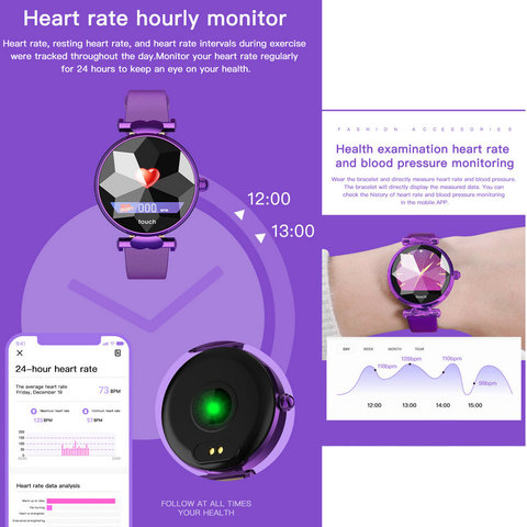 H3 Women Smart Watch Fashion Ladies Watches Female Heart Rate Monitor Blood Pressure Fitness Activity Tracker H2 H1 Smartwatch Islamabad